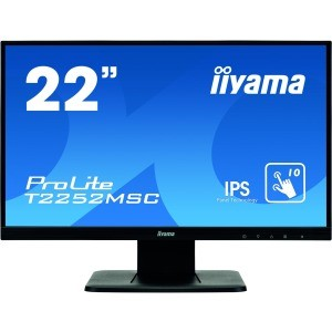 iiyama ProLite T2252MSC-B1 55,9 cm (22 Zoll) LCD-Touchscreen-Monitor - 16:9 Format - 7 ms - Kapaziti