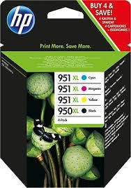 orig. Tintenpatrone HP Nr.951XL/950XL Combo Pack C2P43AE