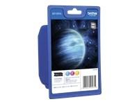 orig. Brother Tintenpatrone LC-1280XLRBWBPDR Rainbowpack