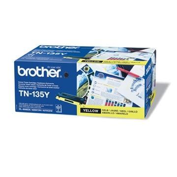 orig. Toner Brother TN-135Y ca. 4000 Seiten