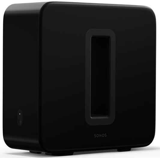 Sonos Sub, Glänzend Schwarz III, Der Sub (3. Generation) verfügt über eine verbesserte integrierte T