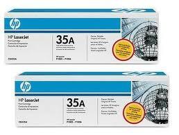 orig. Toner HP CB435AD 35A black/schwarz, 2er Pack 2x 1.500 Seiten