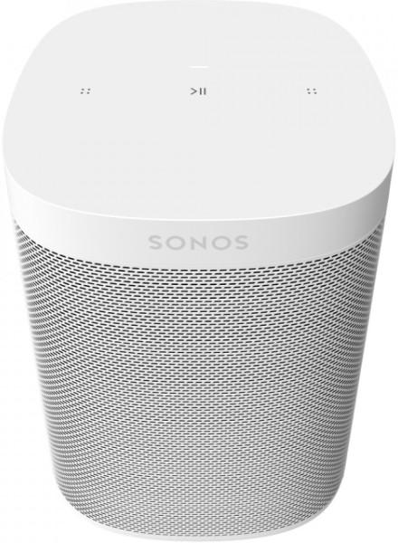 Sonos One SL, weiß, ohne Sprachsteuerung