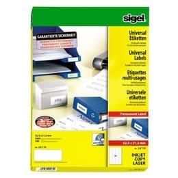 sigel Universal-Etiketten, 70 x 67,7 LA137