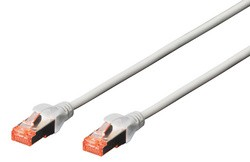 Patch Kabel 3 Meter Kat. 6e S/FTP grau Digitus
