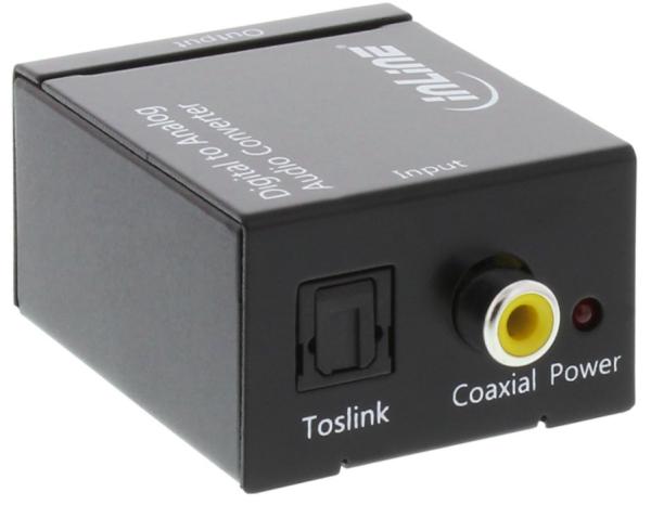 INLINE Audio Konverter Digital/Analog