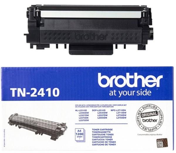 orig. Toner Brother TN-2410 ca. 1.200 Seiten Black/Schwarz