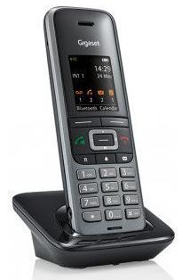 Gigaset S650H Pro Mobilteil Grau mit Ladeschale Schnurlostelefon