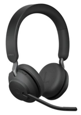 Jabra Evolve2 65 Stereo UC + Link 380 Headset USB-A, schwarz