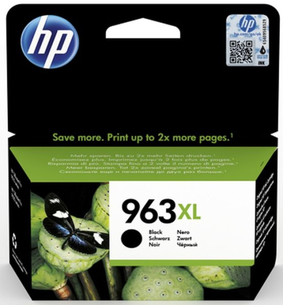 orig. Tintenpatrone HP 963XL Black/Schwarz 3JA30AE#BGX