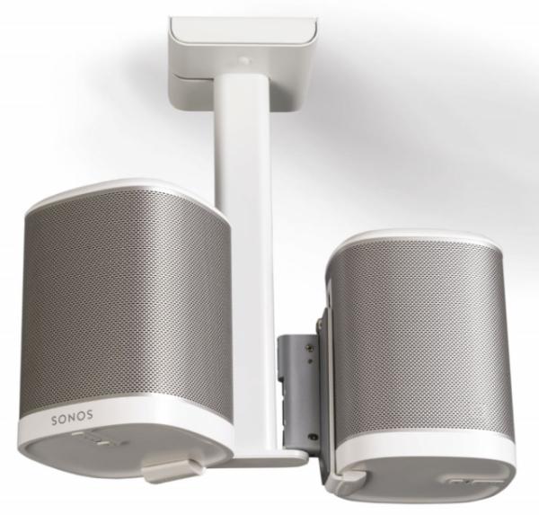 Flexson FLXP1CM2011 Weiß Deckenhalter für 2x Sonos Play:1