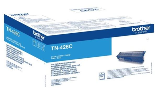 orig. BROTHER TN-426C Cyan/blau Tonerkassette ca. 6500 Seiten