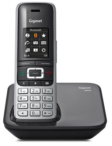 Gigaset · S850 Dect SLT Clip sw (Schwarz) Schnurlostelefon