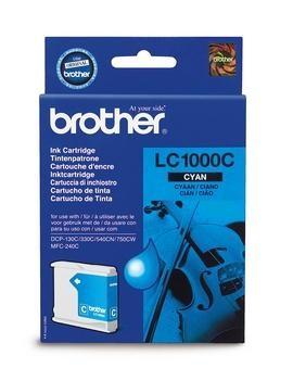 orig. Brother Tintenpatrone LC-1000C cyan/Blau