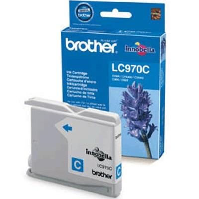 Orig. Tintenpatrone Brother LC-970C Cyan/Blau