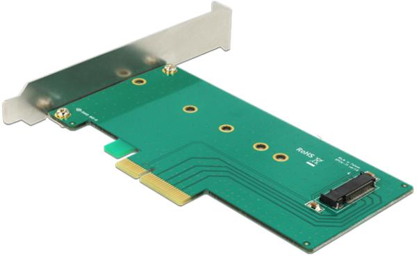 DELOCK PCIe x4 1 x M.2 Key M NVMe Low Profile Form Faktor, 89472