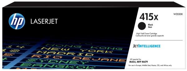 orig. Toner HP W2030X No. 415X black/schwarz ca. 7.500 Seiten