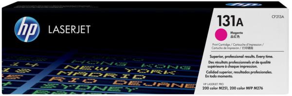 orig. Toner HP CF213A 131A magenta/rot für Color LJ Pro 200 M251 MFP M276series 1 .800 Seiten