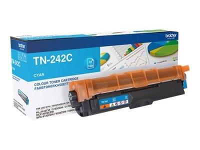 orig. Brother Toner TN-242C Cyan/Blau, ca. 1.400 Seiten