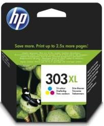 orig. HP Tintenpatrone T6N03AE Nr. 303XL color Cyan/Magenta/Gelb ca. 415 Seiten