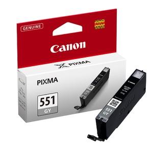 orig. CANON CLI-551 GY Tinte grey/grau fuer Pixma MG 5450 6350 ~330 Seiten