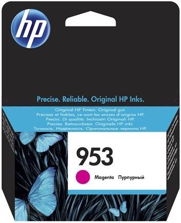 orig. Tintenpatrone HP 953 F6U13AE, magenta/rot, ca. 700 Seiten