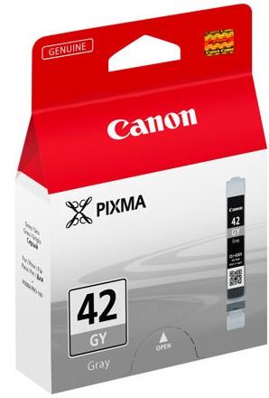 orig. Tintenpatrone CANON CLI-42GY grey/grau, 495 Fotos
