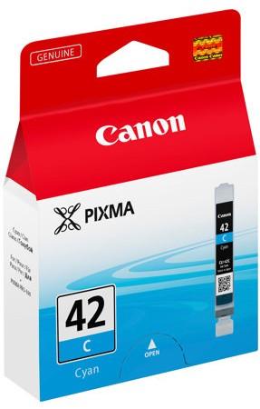 orig. Tintenpatrone CANON CLI-42C cyan/blau, 284 Fotos