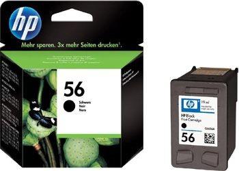 Orig. Tintenpatrone HP C6656AE Nr.56 black/schwarz
