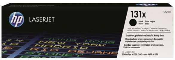 orig. Toner HP CF210X 131x Black/Schwarz für LJ Pro 200 M251 MFP M276series 2 .100 Seiten
