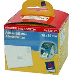 Avery/Zweckform Adress-Etiketten auf Rolle, 70x36