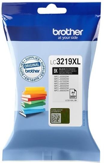 orig. Brother Tintenpatrone LC-3219XLBK schwarz, ca. 3.000 Seiten