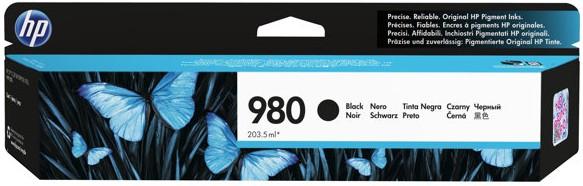 Orig. Tintenpatrone HP D8J10A Nr. 980A black/schwarz, ca. 10.000 Seiten