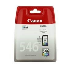 orig. Tintenpatrone Canon CL-546 Color/Farbe, 8ml, ca. 180 Seiten