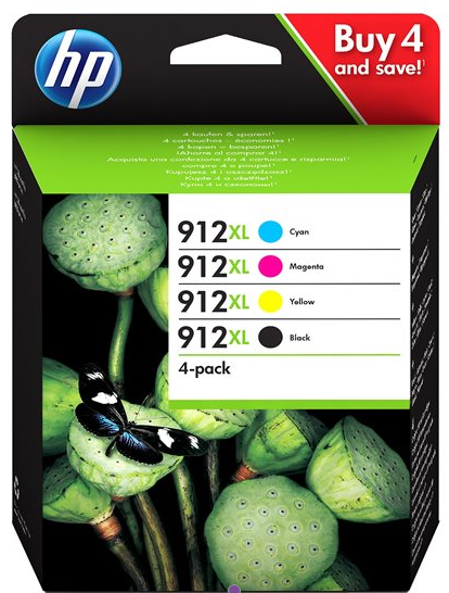 Orig. Tintenpatrone HP 3YP34AE Nr. 912XL Multipack (C/M/Y/BK)