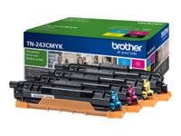 orig. Brother Toner TN-243CMYK Value Pack zu je ca. 1.000 Seiten