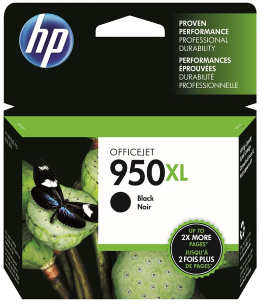 orig. Tintenpatrone HP Nr. 950XL black/schwarz CN045AE#BGX