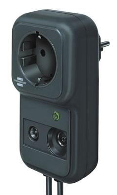 brennenstuhl Steckbarer Überspannungsschutz SP TV, anthrazit