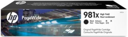 Orig. Tintenpatrone HP L0R12A Nr. 981X black/schwarz ca. 11.000 Seiten