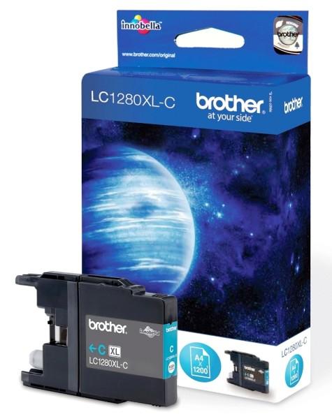 orig. Brother Tintenpatrone LC-1280XLC cyan/blau
