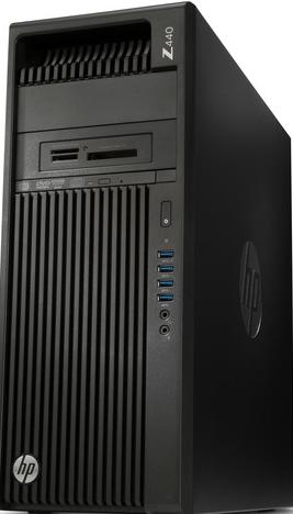geb. PC HP Z440 Xeon E5-1630 V3, 32GB RAM, 256GB SSD, W10 pro 64bit Desktop