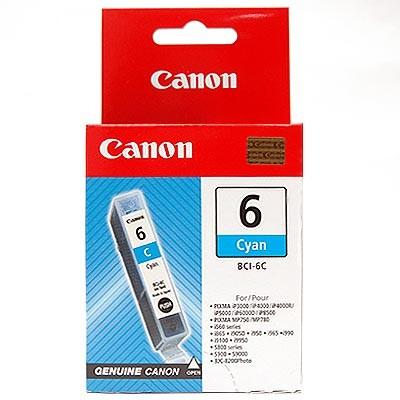 orig. Canon Tintenpatrone BCI-6 C cyan/Blau