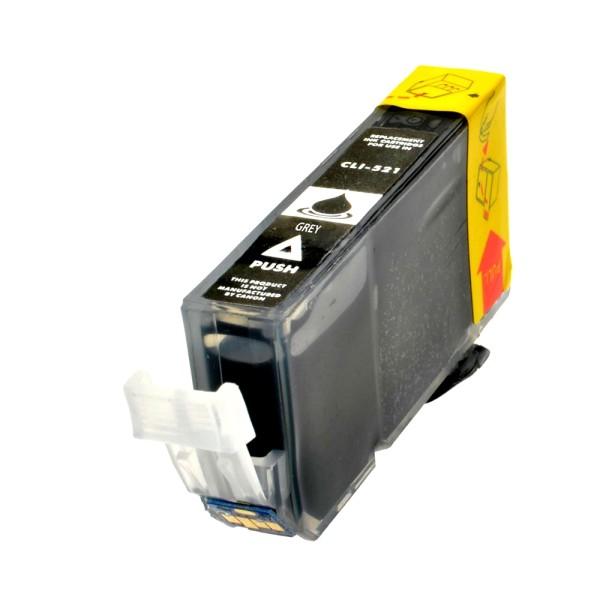 Kompatible Tintenpatrone Canon CLI-521GY Grau