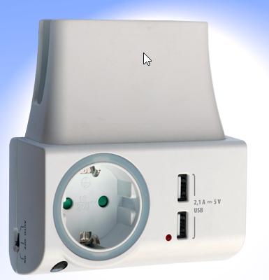 FeinLoad 1 USB Ladegerät mit Nachtlicht NLG00300