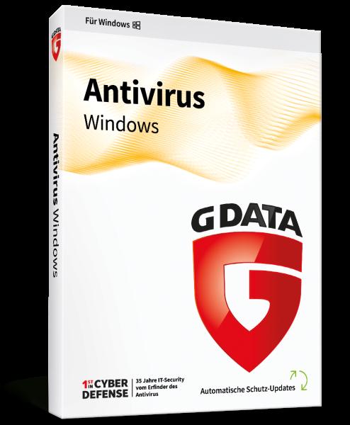 GDATA AntiVirus Vollversion Key only für 1 Jahr für 2 User