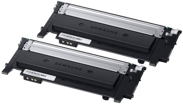 orig. SAMSUNG Toner Doppelpack Schwarz/BLack CLT-P404B fuer 2x1.500 Seiten SU364A
