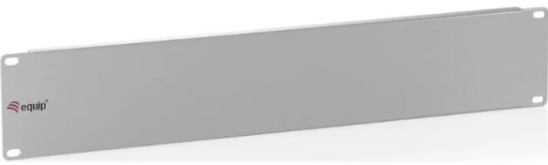 """equip 19"""" Blind-Panel, 1 HE, lichtgrau (RAL 7035) als Frontabdeckung für alle gängigen 19"""" Sch"""