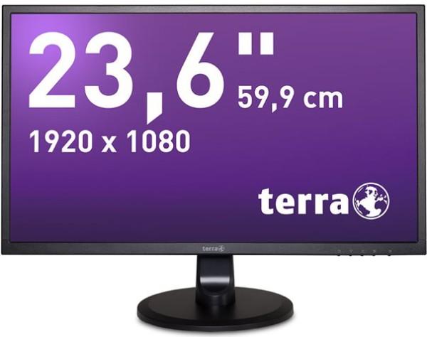 TERRA LED 2447W HDMI/DVI, schwarz