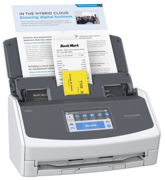 Fujitsu ScanSnap iX1600 - Dokumentenscanner - Dual CIS - Duplex - 279 x 432mm - 600 dpi x 600 dpi -