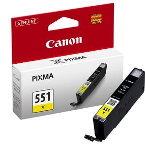 orig. CANON CLI-551 Y Tinte yellow/gelb fuer Pixma MG 6350 ~330 Seiten